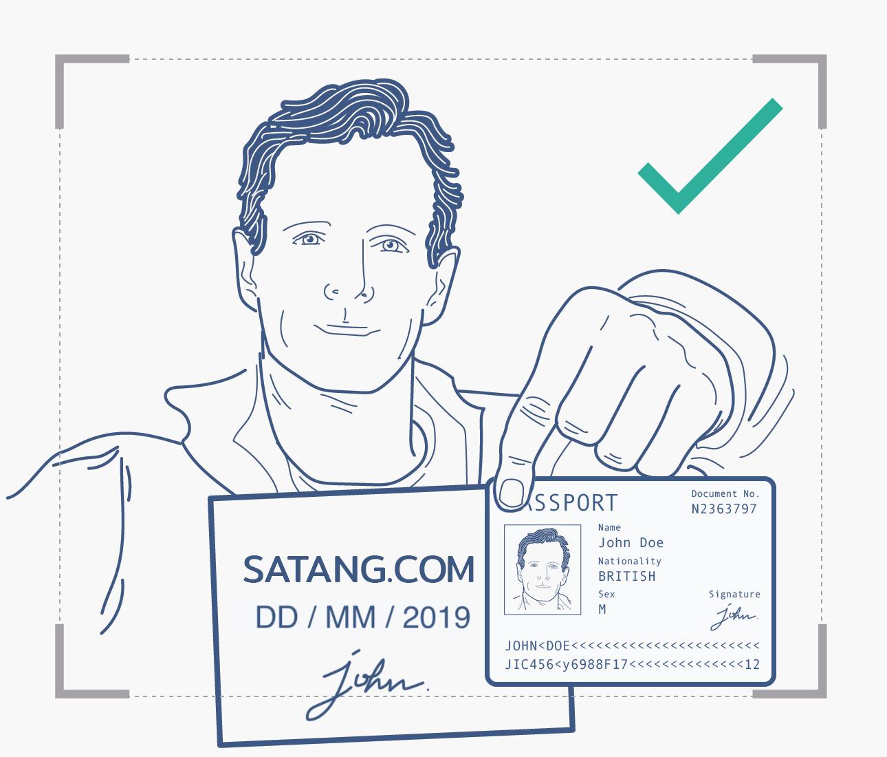 タイ 仮想通貨取引所 Satang.Pro サタンプロ 口座開設 入会 登録方法